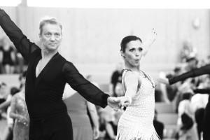 Starter des TV Dieburg: Robert Baier, Bettina Oberhuber (Foto: P. Liste, Dbg.)
